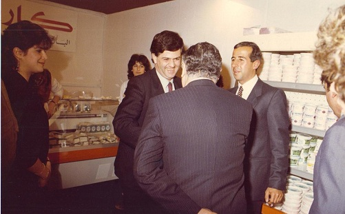 PM Wazzan at Karoun Cheese Stand